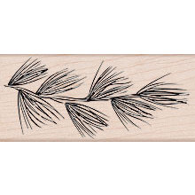 Hero Arts - Woodblock - Wood Mounted Stamps - Big Pine Bough
