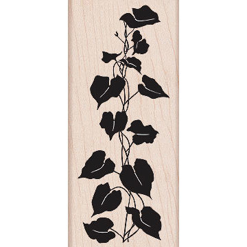 Hero Arts - Woodblock - Wood Mounted Stamps - Silhouette Ivy