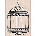 Hero Arts - Woodblock - Wood Mounted Stamps - Birdcage