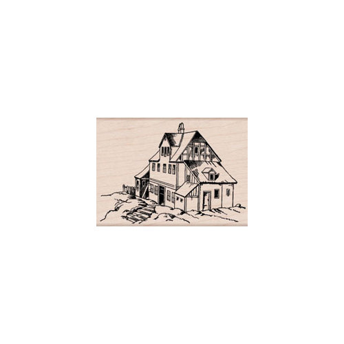 Hero Arts - Woodblock - Wood Mounted Stamps - House