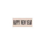 Hero Arts - Woodblock - Christmas - Wood Mounted Stamps - Big Happy New Year