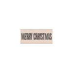 Hero Arts - Woodblock - Christmas - Wood Mounted Stamps - Big Merry Christmas