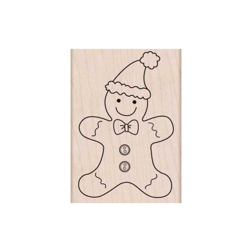 Hero Arts - Woodblock - Christmas - Wood Mounted Stamps - Gingerbread Fun
