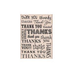 Hero Arts - Woodblock - Wood Mounted Stamps - Thank You and Thanks