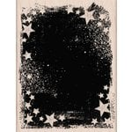 Hero Arts - Woodblock - Wood Mounted Stamps - Star Galaxy