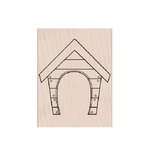 Hero Arts - Woodblock - Wood Mounted Stamps - Dog House