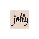 Hero Arts - Woodblock - Christmas - Wood Mounted Stamps - Bold Jolly