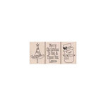 Hero Arts - Woodblock - Christmas - Wood Mounted Stamps - Those You Love