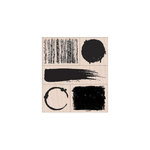 Hero Arts - Stamp Your Story Collection - Woodblock - Wood Mounted Stamps - Texture And Shape