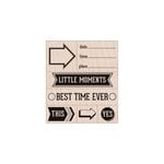 Hero Arts - Stamp Your Story Collection - Woodblock - Wood Mounted Stamps - Little Moments