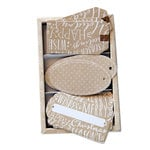 Hero Arts - Designer Tags - Christmas - Just Tags Set - Kraft
