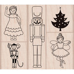 Hero Arts - Wood Block - Wood Mounted Stamp - Nutcracker