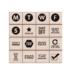 Hero Arts - Kelly Purkey Collection - Woodblock - Wood Mounted Stamps - Best Day Ever