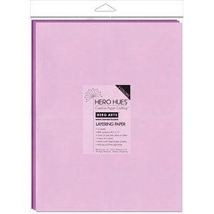 Hero Arts - Hero Hues - 8.5 x 11 Layering Paper - Floral Mix