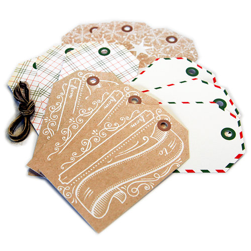 Hero Arts - Journaler's Tags - Christmas - Holiday Tags