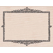 Hero Arts - Woodblock - Wood Mounted Stamps - Simple Frame