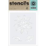 Hero Arts - Stencils - Night Flower