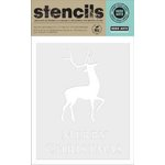 Hero Arts - Christmas - Stencils - Merry Christmas Reindeer