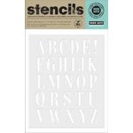 Hero Arts - Stencils - Subway Letters