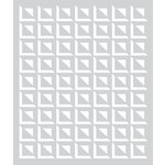Hero Arts - BasicGrey - Stencils - Small Square Grid
