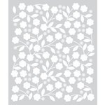 Hero Arts - BasicGrey - J'Adore Collection - Stencils - Floral Vines