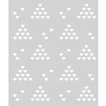 Hero Arts - BasicGrey - J'Adore Collection - Stencils - Heart Patterns