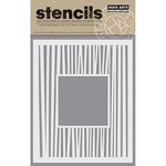 Hero Arts - Stencils - Monogram Backgrounds