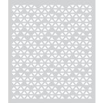 Hero Arts - BasicGrey - Prism Collection - Stencil - Triangle Patterned