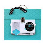 Heidi Swapp - Memory File Collection - Memory File Box - Teal