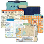 Heidi Swapp - No Limits Collection - Die Cut File Folders - Memory Files