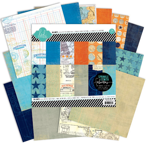 Heidi Swapp - No Limits Collection - 6 x 6 Paper Pack