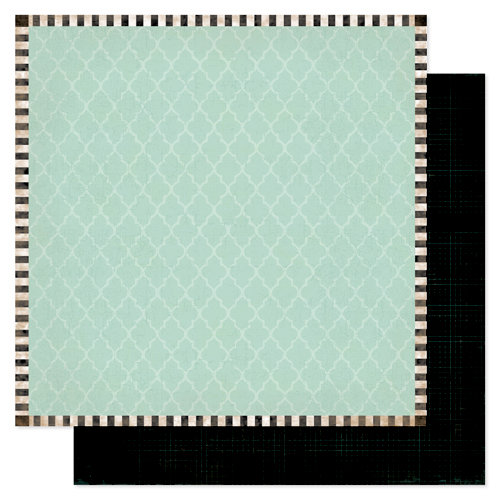 Heidi Swapp - Sugar Chic Collection - 12 x 12 Double Sided Paper - Adore