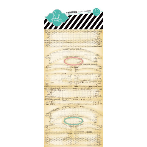 Heidi Swapp - Vintage Chic Collection - Paper Banners