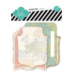 Heidi Swapp - Vintage Chic Collection - Notes - Journaling Cards