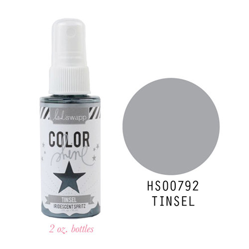 Heidi Swapp - Color Shine Iridescent Spritz - 2 Ounce Bottle - Tinsel