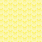 Heidi Swapp - Color Pop Collection - 12 x 12 Resist Patterned Paper - Yellow