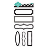 Heidi Swapp - Color Pop Collection - Memory File - Tab Stickers