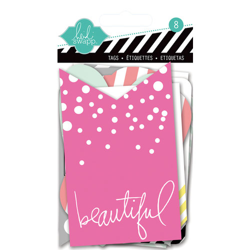 Heidi Swapp - Color Pop Collection - Resist Tags