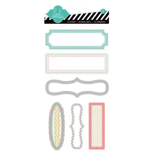 Heidi Swapp - Serendipity Collection - Memory File - Tab Stickers
