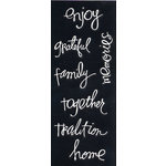 Heidi Swapp - Silhouette Words - Family, CLEARANCE