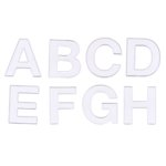 Heidi Swapp Ghost Alphabets - Reason Upper Case - Clear, CLEARANCE