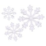 Heidi Swapp Ghost Shapes - Snowflakes - Clear