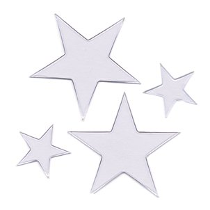 Heidi Swapp Ghost Shapes - Stars - Clear, CLEARANCE