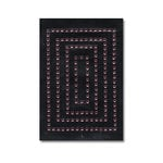 Heidi Swapp - Jewel Art - Bling - Frames - Rectangles - Pink, CLEARANCE