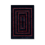 Heidi Swapp - Jewel Art - Bling - Frames - Rectangles - Ruby, CLEARANCE