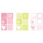 Heidi Swapp - Writers Block - Squares - Medium Capri, CLEARANCE