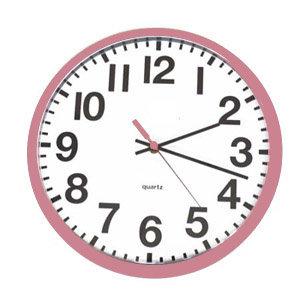 Heidi Swapp - Clock - Pink, CLEARANCE