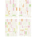 Heidi Swapp - Chipboard - Alphabet - Center of Attention - Mix, CLEARANCE