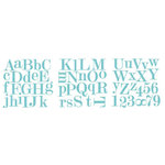 Heidi Swapp - Carefree Collection - Foam Board Alphabet, CLEARANCE