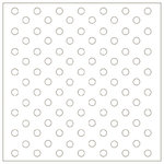 Heidi Swapp - Runway Collection - 12x12 Overlay Extras - Dots, CLEARANCE